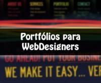 10 modelos de portfólio para Webdesigners